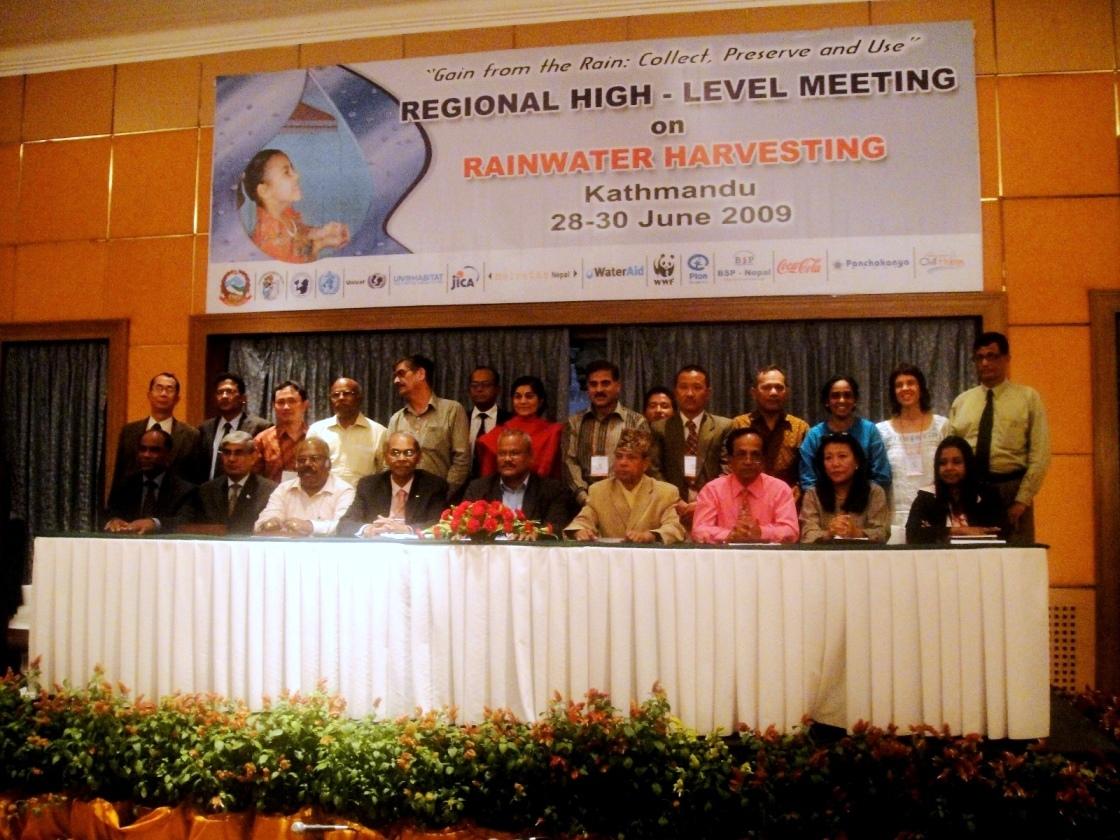 Regional Kathmandu meeting 2009