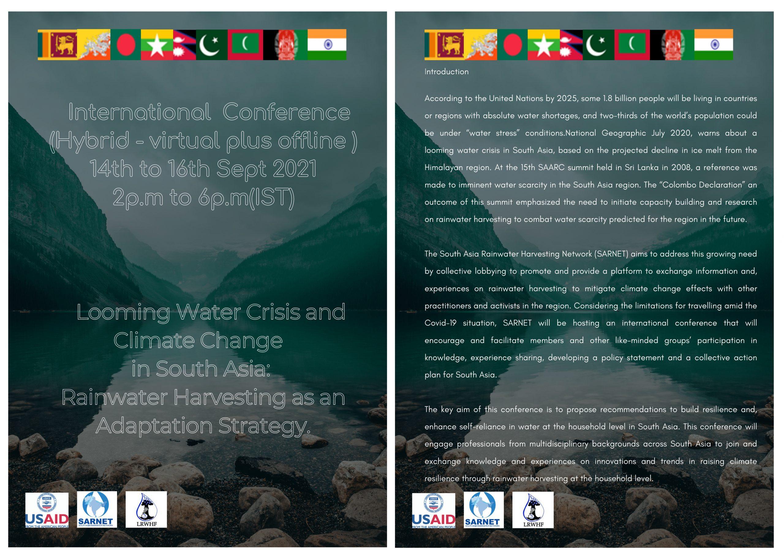 International conference post 1